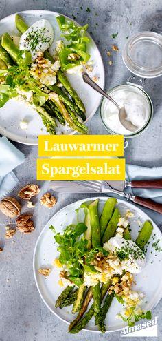 Die Spargel-Saison ist eröffnet und bietet dabei viele leckere und gesunde Rezepte. Eins davon gibt's gleich hier. ⬆️   #almased #fragalma #gesunderezepte #gesundabnehmen #spargelzeit