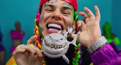 You can love him or hate him but Tekashi sure knows how to get the people talking — and tuned in. --advertisement-- On Friday, he made his much Nicki Minaj, Delete Social Media, Bad Boy, House Arrest, Hip Hop Videos, Machine Gun Kelly, First Pregnancy, Pregnancy Pics, Finding Nemo