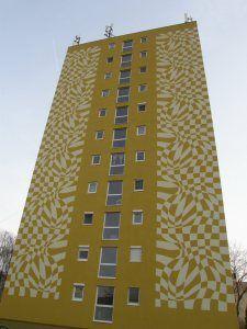 Posts about külváros written by ideiglenes Budapest, Op Art, Opi, Skyscraper, Street Art, Multi Story Building, Beautiful, Google, Skyscrapers