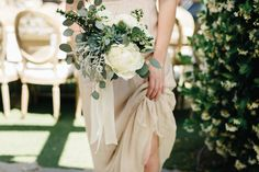 Photography: Jana Williams Photography - jana-williams.com Floral Design: Krista Jon for Archive - http://kristajon.com/ Wedding Dress: Galia Lahav - www.galialahav.com/   Read More on SMP: http://www.stylemepretty.com/2015/09/28/romantic-malibu-vineyard-wedding/