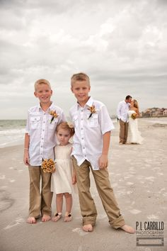 Children are always welcome in your ceremony. http://gulfbeachweddings.com . http://plcarrillophotography.com/