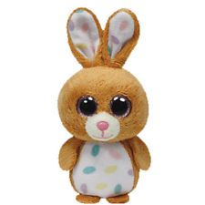 TY Basket Beanie Baby - CARROTS the Rabbit (3 inch) -  MWMT's New