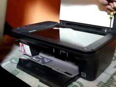 Desarmar multifunción HP F2050