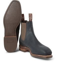 The Latest Fashion Footwear and Clothing For Men Mens Suede Boots, Leather Chelsea Boots, Suede Shoes, Leather Men, Shoe Boots, Men's Boots, Mens Boots Fashion, Men's Fashion, Gents Shoes