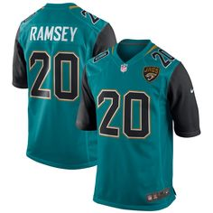 256bd8145 Redskins Kirk Cousins jersey Jalen Ramsey Jacksonville Jaguars Nike Game  Jersey - Teal Chiefs Patrick Mahomes