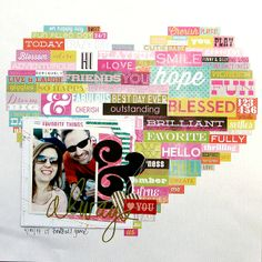 I'll always love you by amy coose @2peasinabucket love all the word stickers
