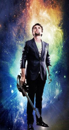 Matt Bellamy <3  Muse  (myz)  n.  1. Greek Mythology Any of the nine daughters of Mnemosyne and Zeus, each of whom presided over a different art or science.  2. muse  a. A guiding spirit.  b. A source of inspiration.  3. muse A poet.