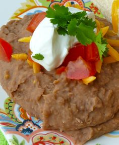 How to make refried beans stovetop.