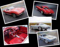 The Chevrolet Corvette (C2 for Second Generation), also known as the Corvette Stingray, 1962–1967.