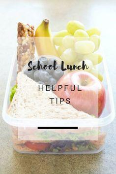 10 Helpful Tips for Kid's School Lunch & Snacks - 10 Συμβουλές για το κολατσιό των παιδιών στο σχολείο | Ioanna's Notebook Lunch Snacks, School Lunch, Helpful Hints, Parenting, Posts, Breakfast, Tips, Blog, School Lunch Food