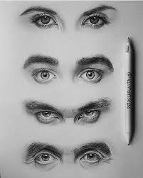 Resultado de imagen para eyes drawing