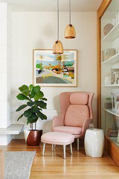 Una casa actual y muy atractiva en California (+ get the look) · A modern home…