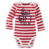 These festive stripes are perfect for wrapping presents by the Christmas tree. <br>
