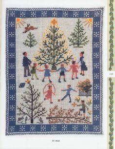 Bildresultat för julbonad korsstygn