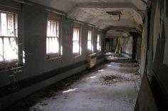 Wrecked corridor