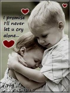Lovely SMS - I Promise I ll Never Let u Cry Alone