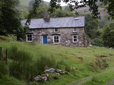 Bron-Yr-Aur Cottage,  Gwynedd, Wales.   Led Zeppelin III was written here.