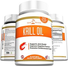 Pure Krill Oil Omega 3 Supplement - 30 Liquid Softgels - Potent Antarctic Antioxidant High in DHA and EPA Promotes Joint Flexibility, Heart Health, Mental Sharpness, and Immune Vitality - Made in USA and Certified By 3rd Party Lab Island Vibrance http://www.amazon.com/dp/B00X51IR74/ref=cm_sw_r_pi_dp_6Rv0wb02GYY2R