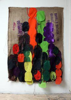 Gunvor Nervold Antonsen Contemporary Art Definition, Textile Fiber Art, Fibre Art, Textiles, Fabric Manipulation, Mixed Media Collage, Art Education, All Art, Painting & Drawing