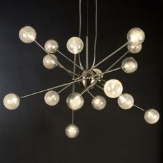 Galaxia Chandelier by Trend Lighting. I just put this in my kitchen.  I loooove it!!!