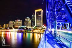 Urban Photo Prints, City Poster, Cityscape Photos, City Wall Decor, Jacksonville Skyline, Landmark Art, Night, Bridge, Florida Gifts by Bear8Photo on Etsy