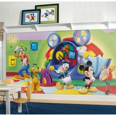Mickey Mouse Clubhouse Capers Wall Mural