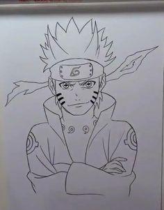 Ei você que curti animes e até arrisca uns desenhos do seu personagem favorito mas acha que não fica lá grandes coisas.  Conheça o método que está fazendo milhares amadores se tornarem desenhistas de alto nível de uma forma muito simples.  Método FanArt. CLICA NA FOTO E SAIBA MAIS Naruto Drawings Easy, Naruto Sketch Drawing, Anime Drawings Sketches, Anime Sketch, Naruto Uzumaki, Naruto Art, Manga Anime, Anime Art, Naruto Painting