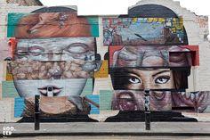 # Bom.k & Lilwenn @ London Murals