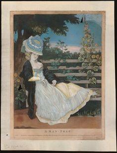 Carington bowes  1780  Hand-coloured mezzotint