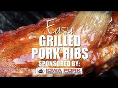 HOW TO GRILL THE BEST PORK RIBS (+Video) | The Country Cook