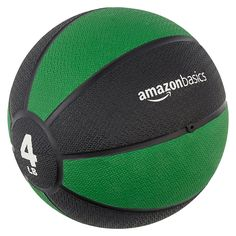 A worthy addition to any workout, this AmazonBasics medicine ball helps improve core strength, promote better balance, and cultivate coordination. The weighted strength-training ball works well for a wide range of upper- and lower-body workouts, including the classic medicine ball workout where you throw the ball back-and-forth with a gym buddy or personal trainer.