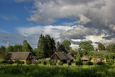 Traditional wooden houses in estonian countryside Fine Art Prints, Framed Prints, Canvas Prints, Rural House, Wooden Houses, House Wall, Cottage House, Photos For Sale, Wood Print