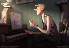 ROGER by Leticia Reinaldo | Cartoon | 3D | CGSociety