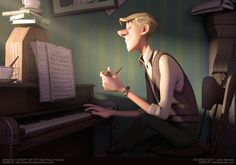 ROGER by Leticia Reinaldo | Cartoon | 3D | CGSociety