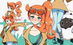 Sonia - Pokemon Sword and Shield by Invidiata on DeviantArt Pokemon Comics, Pokemon Funny, Pokemon Memes, Pokemon Fan Art, All Pokemon, Pokemon Waifu, Gijinka Pokemon, Pokemon Special, Digimon