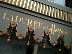 Laduree at Harrods.where I went and had high tea while living in London one summer! London Shopping, Shopping Places, Fee Du Logis, Dinner Party Games, Queen Of Everything, Before Sunrise, Night City, Lush, Recipes
