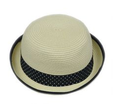 c4fde6acbe367 Kritzer Marketing from New York NY USA Beige color Straw hat. Comes with  black or beige band. SPSPromotions · Straw Fedora Hats with your imprinted  Logo ...