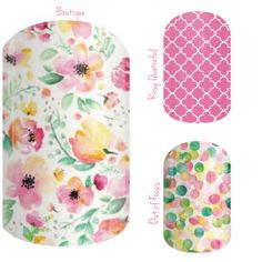 I love pink!!! Jamberry nail wraps are heat activated wraps that last up to 2 weeks. Contact me at themagicofjams@yahoo.com