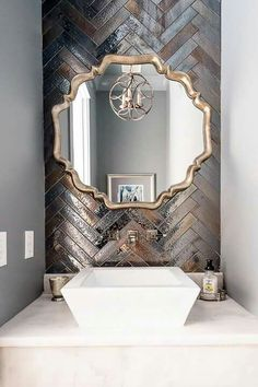Artistic Tile I Backsplash: 'Kyoto' ceramic . Artistic Tile I Backsplash: 'Kyoto' ceramic … – # Artistic Tile, Bathroom Inspiration, Bathroom Ideas, Modern Bathroom, Small Bathrooms, Brown Bathroom, Budget Bathroom, Dream Bathrooms, Tile Bathrooms
