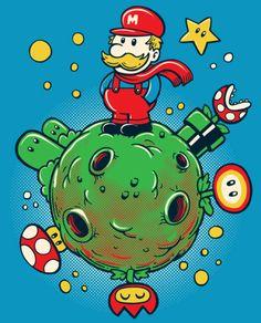 Mario/Little Prince mashup by Sassa Cartum