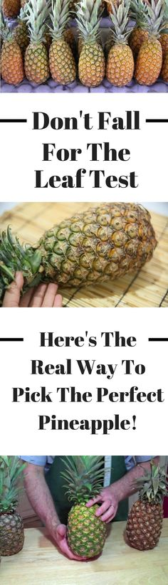 Pineapple is a sweet and delicious fruit—but do you know how to pick one that's perfectly ripe? Mason Jars, Baked Strawberries, Dark Chocolate Cakes, Hot Chocolate, Best Fruits, Delicious Fruit, Marmalade, Fried Chicken, Kitchens