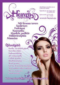 Heaven beauty-parlour branding by Petra Vitéz, via Behance