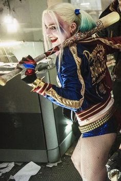 Margot Robbie Harley Quinn Suicide Squad Ladies Jacket