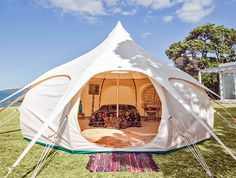 Lotus Belle Outback Tent provides a temporary luxury space with multiple purposes | Inhabitat - Sustainable Design Innovation, Eco Architecture, Green Building