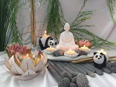 Zen, Table Decorations, Furniture, Home Decor, Interiors, Interior Design, Home Interior Design, Arredamento, Dinner Table Decorations
