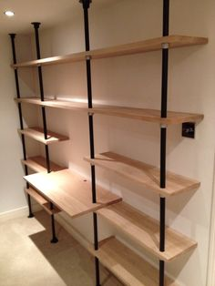 key clamp shelves - Google Search