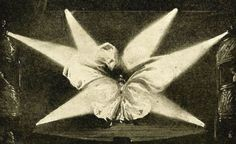 Loïe Fuller. Danse serpentine. La Science et la vie n°45 juillet 1919