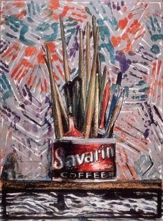 Savarin Monotype, 1982 Art Print by Jasper Johns Easyart.com
