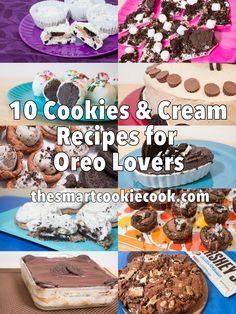 10 Cookies & Cream Recipes for Oreo Lovers