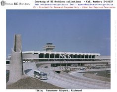 1977 Picture of the original airport. Richmond Vancouver, Vancouver Bc Canada, Old Pictures, Old Photos, Vintage Photos, Photo Boards, City Maps, Most Beautiful Cities
